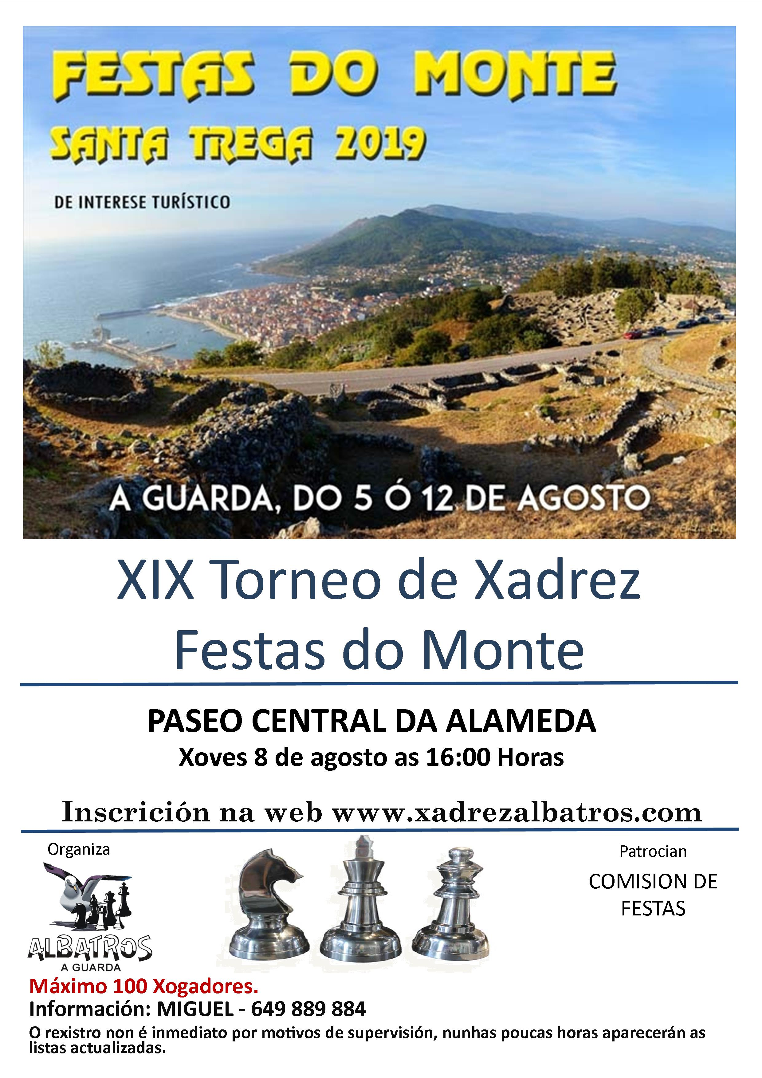 Cartel Festas do Monte 2019